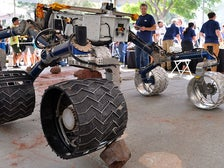 Rover at JPL Open House