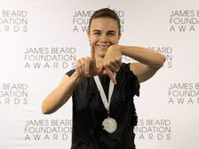 Suzanne Goin, winner of Outstanding Chef at the 2016 James Beard Foundation Awards