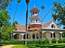 Queen Anne Cottage at L.A. County Arboretum