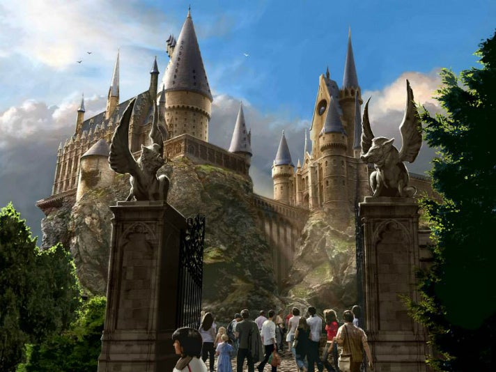 """Harry Potter and the Forbidden Journey"" at Universal Studios Hollywood"