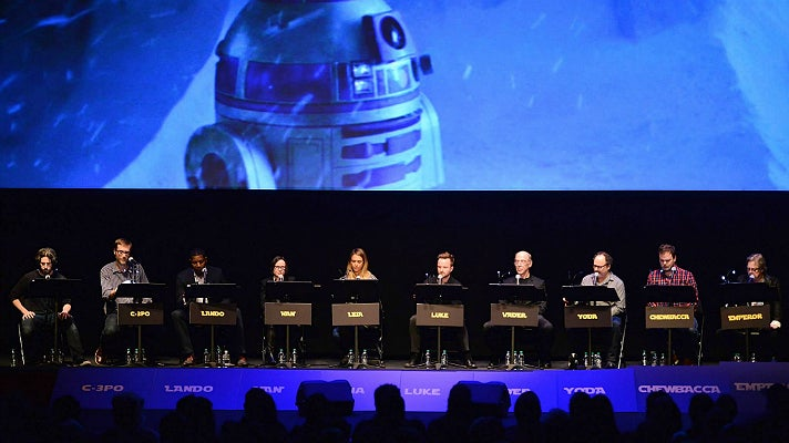 """Film Independent Live Read of """"The Empire Strikes Back"""""""