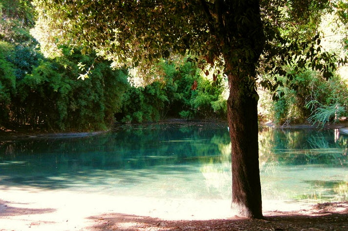 "The Lagoon in ""Pretty Little Liars"" at Warner Bros. Studio"