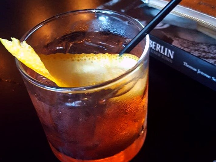 Oaxacan Old-Fashioned at El Condor