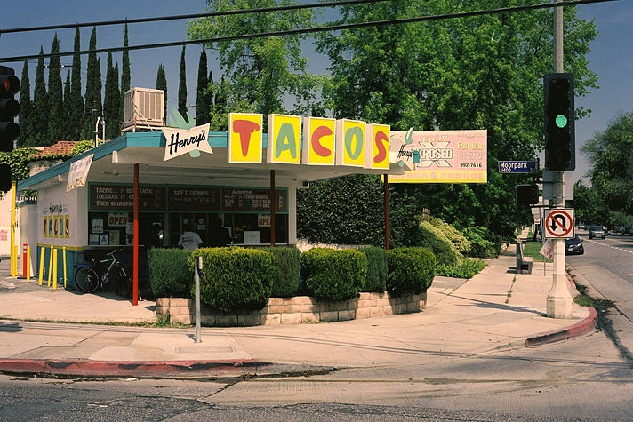 Original location of Henry's Tacos in Studio City