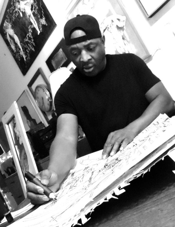 """""""Chuck D: Behind the Seen"""" at Gallery 30 South"""
