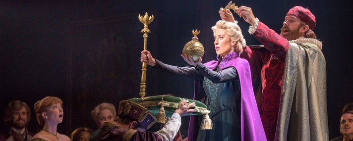 """""""Frozen"""" at the Hollywood Pantages Theatre"""