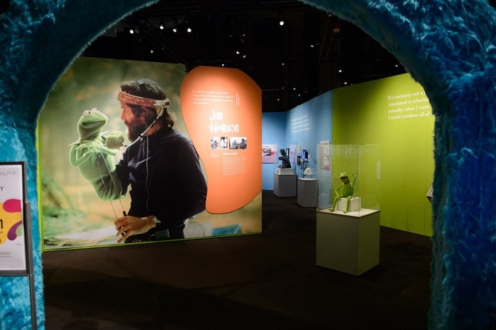 """The Jim Henson Exhibition: Imagination Unlimited"" at Skirball Cultural Center"