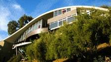 "Garcia House by John Lautner as seen in ""Lethal Weapon 2"""
