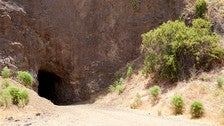 Bronson Caves in Griffith Park