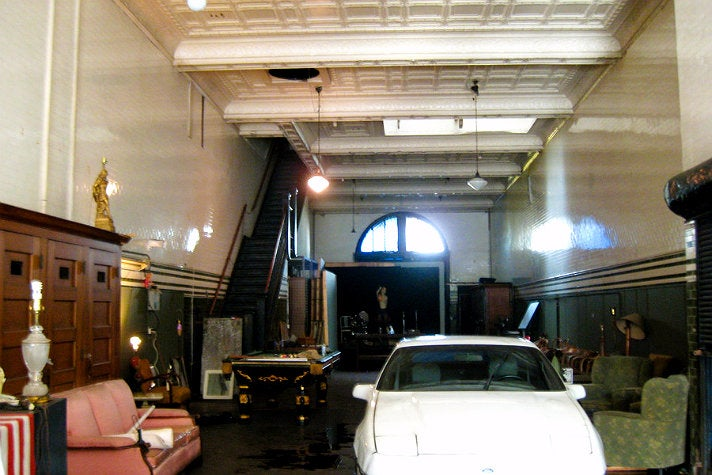 "Interior of Fire Station No. 23 from ""Ghostbusters"""