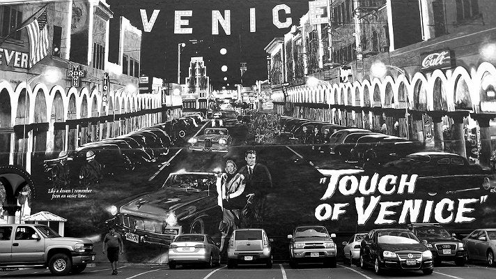 """Touch of Venice"" mural"