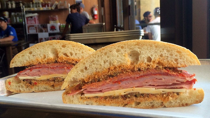 DR Muffuletta at Del Rey Deli Co.