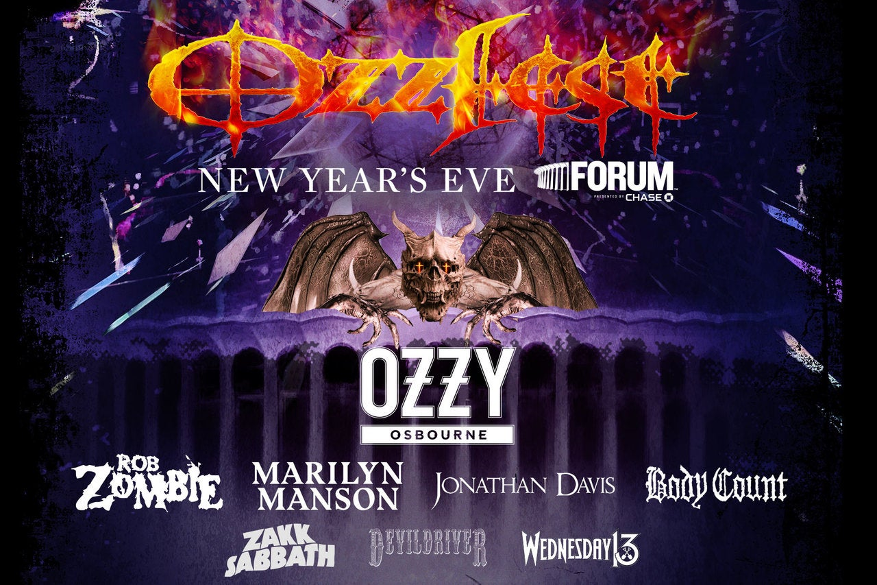 OZZFEST NYE 2019 at The Forum