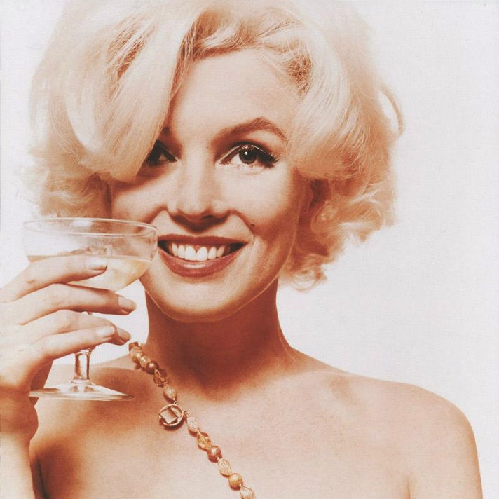 """Marilyn Monroe, """"Here's to You"""" from """"The Last Sitting"""""""